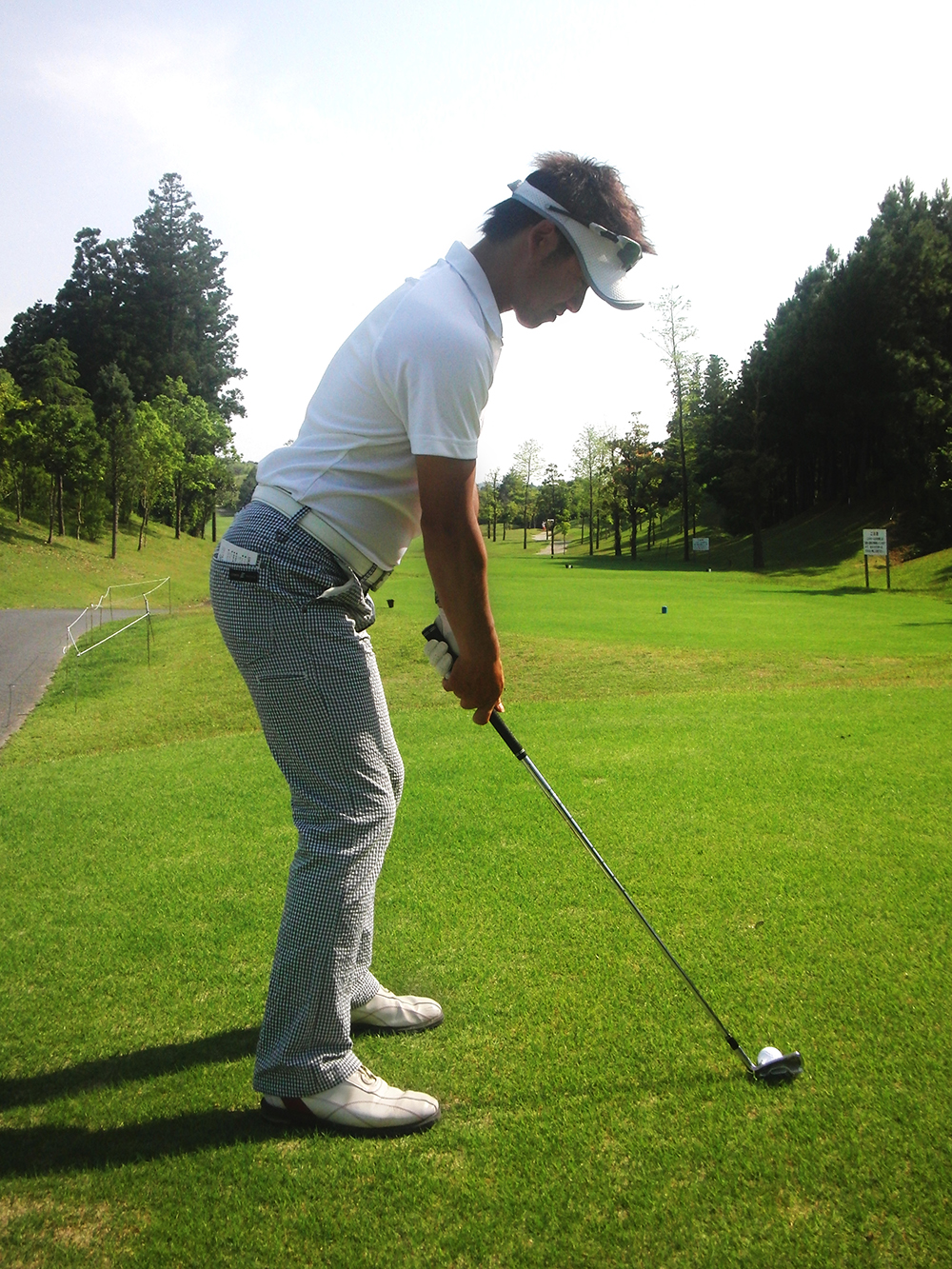 NFゴルフクリニック練習風景